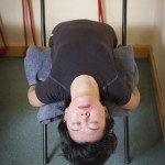 Back Bend over Chair