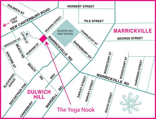 Yoga Nook Map